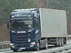 Scania S450 highline from ABT Germany. (capelleaandenijssel) Tags: somv1072 truck trailer lorry camion lkw