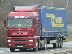 MAN TGA from DE-MI Bulgaria. (capelleaandenijssel) Tags: e6753kk truck trailer lorry camion lkw walter bg