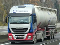 Iveco Stralis from Cillignon Belgium. (capelleaandenijssel) Tags: 1pbs207 truck trailer lorry camion lkw bulktanker citerne tanker