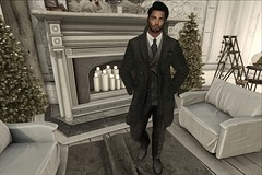 suited n booted (The Real Blue) Tags: suit smart christmas handsome home