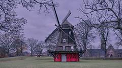 Lone Sentinel (joanne clifford) Tags: copenhagen windmill kastellet citadel mill bread flour fujifilm xt3 xf1655 denmark sustainable red architecture københavn