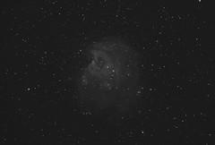 The Monkey Head Nebula in Ha (Andy@astrophotography) Tags: monkeyheadnebula ngc2174 ngc2175 canon losmandy
