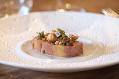 Le foie Gras de Canard du Gers (Katell Ar Gow) Tags: pourpre lardoisedumarché boulleret restaurantgastronomique petitsplaisirs gastronomie