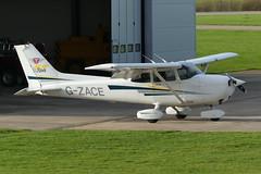 Cessna 172S Skyhawk SP G-ZACE (Gavin Livsey) Tags: c172 cessna skyhawk gzace sywell