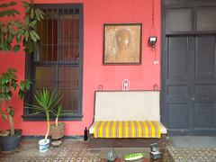 A courtyard in Barranco (Lewitus) Tags: barranco lima peru doors windows colors plants
