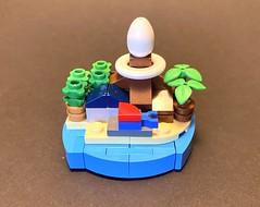 Koholinth Island (speedyhead79) Tags: lego microbuild micro legomicro moc legomoc zelda link koholinth linksawakening nintendo afol