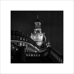 Dresden, Frauenkirche (ekkiPics) Tags: dresden frauenkirche nightphotography city church
