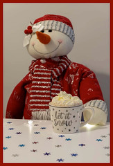 Let it Snow (Heart&Soul59) Tags: mugs with words smile saturday mr snow snowman