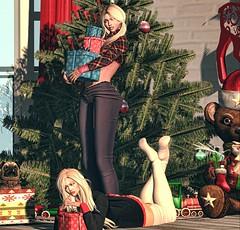 xmas girls (Milena Inaka ♥) Tags: scandalize lop backdrops sublime poses slblog blogsl secondlife