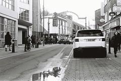 Brick Lane (goodfella2459) Tags: nikonf4 afnikkor50mmf14dlens cinestillbwxx 35mm blackandwhite film analog london whitechapel bricklane history crimehistory fryingpanpub maryannnichols jacktheripper eastend bwfp