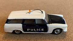 Dinky Toys France - Number 1429 - Break Peugeot 404 Estate Police Car - Miniature Die Cast Metal Scale Model Emergency Services Vehicle. (firehouse.ie) Tags: miniatures miniature models model metal vehicules vehicule vehicles vehicle vintage stationwagon wagon estate coches coche cars car cops cop polizei police peugeot404 peugeotbreak break peugeot madeinfrance dinkyfrance dinkytoys dinky