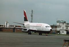 F-GCJL (IndiaEcho) Tags: airport aircraft aviation aeroplane airfield england air dorset boeing bournemouth charter boh hurn 737200 eghh fgcjl eurolair