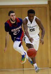 One step ahead (stephencharlesjames) Tags: college sport mens sports action basketball ball dribble ncaa middlebury vermont