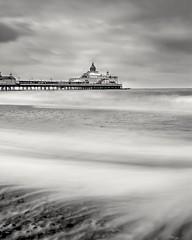 Eastbourne pier. (Karl Horsman) Tags: atmosphere atmospheric coastline coastal coast pier eastbourne eastbournepier longexposure leefilters canonuk canon beach beachlife sigmauk eastsussex uk england blackandwhite greatbritain