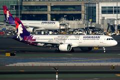 Hawaiian Airlines | Airbus A321-200N | N213HA | San Francisco International (Dennis HKG) Tags: aircraft airplane airport plane planespotting canon 7d 100400 sanfrancisco ksfo sfo hawaiian hawaiianairlines hal ha usa airbus a321 airbusa321 a321neo airbusa321neo sharklets a21n n213ha