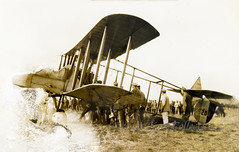 Captured Royal Aircraft Factory F.E.2b with serial 5206 brought down by German forces [United Kingdom, 1916] (Kees Kort Collection) Tags: 1916 5206 fe2 fe2b raf royalaircraftfactory capture