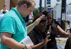 Praying (Austyn Terrio) Tags: police orlando florida firstresponders prayfororlando pulse pulsenightclub shooting orlandoshooting ambulance prayers praying intense tragedy 2016