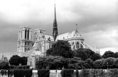 Notre-Dame de Paris, France, in 1986 (Roland de Gouvenain) Tags: notredame paris france cathedral cathédrale