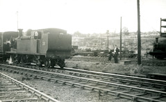 Image00092 (OldRailPics) Tags: steam locomotive british railways isle wight ashey w28