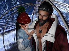 Always warming me on cold days (Lilly Cicaskes) Tags: winder xmas christmas snow bubble beauty gorgeous cute beautiful sexy snowman frosty firestormsecondlifesecondliferegionadagiobreezesecondlifeparceloldtownphotogenicsimkaraokewinterlandsecondlifex116secondlifey65secondlifez1201