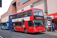 Go North East 6142 / YN04 GJZ (TEN6083) Tags: northshields omnidekka eastlancs n94ud scania yn04gjz 6142 gonortheast transport buses publictransport bus nebuses