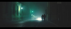 Beryl (!Roy) Tags: krakow cracow beryl emerald night foggy misty girlfriend 6d 50mmf14exdghsm couple anamorphic widescreen autumn fall cinematic cinematiclighting 2401 film