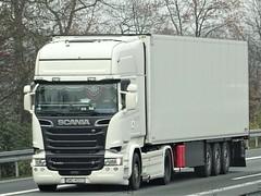 Scania R580 topline from unknown Poland. (capelleaandenijssel) Tags: swd40013 pl polska truck trailer lorry camion lkw cooler reefer
