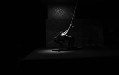 The slave (BenoitGEETS-Photography) Tags: slave esclave soumision a6000 sony figurine toys jouet phicen 16 bw bn noiretblanc nb corde suspendu suspendue