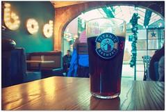 Titanic Plum Porter @ bod (zweiblumen) Tags: titanicbrewery plumporter bod stokeontrent station cafe bar inn pub tavern staffordshire england uk canoneos50d polariser beer ale porter pint zweiblumen