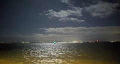 Moonlight on the Solent (snaprails) Tags: night portsmouth hampshire southsea seaside