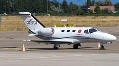 Cessna 510 Citation Mustang OE-FDT GlobeAir (William Musculus) Tags: aviation plane airplane airport spotting william musculus cessna 510 citation mustang oefdt globeair strasbourg entzheim lfst sxb