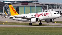 Airbus A320-251N TC-NBK Pegasus (William Musculus) Tags: aviation plane airplane airport spotting william musculus suttgart flughafen edds str tcnbk pegasus airbus a320251n a320neo a320200neo pc pgt