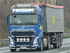 Volvo FH4 globetrotter from HS Agrartransporte Germany. (capelleaandenijssel) Tags: klehs784 truck trailer lorry camion lkw