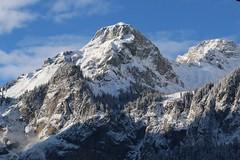 Berge im Winter (Nice Day) Tags: kandersteg sonnenuntergang winter schnee