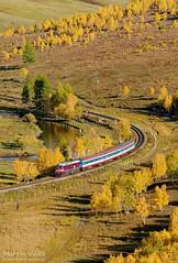 M62UMM-005 UBTZ, Tunkh - Shatang (Mongolia) (Martin Válek) Tags: rail railway railroad train locomotive zug eisenbahn vlak železnice mongolsko mongolei transmongolianrailway ulaanbaatarrailway shatanga kharaa sergej taigatrommel