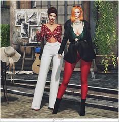 Credits 👇 NEW POST ♥ (Bah Stella) Tags: secondlife blog blogger female model lotd creditos hairstyle hair accessories virtuallife secondlifeblog secondlifefashion