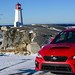 WRX at Peggy's Cove