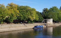 IMGP0677 (mattbuck4950) Tags: england unitedkingdom europe water holidays september boats narrowboats rivers history yorkshire york yorkcastle riverouse camerapentaxk70 lenssigma18300mm 2019 holiday2019yorkshire