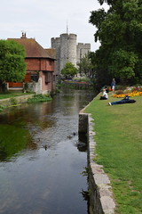 The Great Stour (SteveInLeighton's Photos) Tags: england stephenmakin kent 2019 nikond3300 august canterbury river gatehouse stour