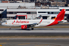 N750AV | Airbus A320-214/W | Avianca Colombia (with #ViajeDeEsperanza titles) (cv880m) Tags: newyork jfk kjfk kennedy johnfkennedy aviation airliner airline aircraft airplane jetliner airport spotting planespotting n750av airbus a320 320200 320214 winglet sharklet avianca colombia viajedeesperanza pope