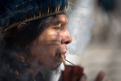 Madrid, December 2019 (Lutheran World Federation) Tags: amazon climate climatechange europe forest indigenous madrid rainforest spain unitednations smoke tobacco