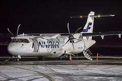 ATR72 (OH-ATN) - Finnair (Sami Niemeläinen (instagram: santtujns)) Tags: joensuu suomi finland onttola efjo lentokenttä lentoasema atr atr72 lentokone airplane aeroplane turboprob ohatn norra finnair ilmailu aviation