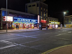Clarence Pier (snaprails) Tags: night portsmouth hampshire southsea seaside