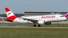 Airbus A320-214 OE-LBX Austrian Airlines (William Musculus) Tags: aviation plane airplane airport spotting william musculus suttgart flughafen edds str oelbx austrian airlines airbus a320214 a320200 os aua