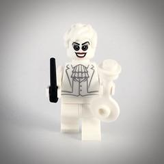 "Vanya Hargreeves ""The White Violin"" (theoctopirate_customs) Tags: lego umbrella academy vanya hargreeves white violin purist custom minifigure afol"