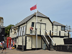 Harbourmaster's Office (SteveInLeighton's Photos) Tags: england stephenmakin kent 2019 nikond3300 july broadstairs boathouse