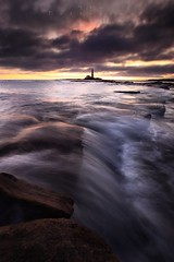 Rise & Fall (Stu Patterson) Tags: stu patterson seascape sunrise