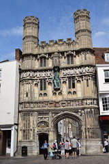 Christ Church Gate (SteveInLeighton's Photos) Tags: england stephenmakin kent 2019 nikond3300 august canterbury tourist cathedral gatehouse