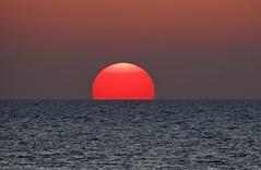 Mediterranean Sunset (Alan McCluskie) Tags: sunset sun settingsun sea ocean paphos cyprus