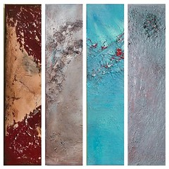 Textuurdetails van een aantal van mijn schilderijen 😊 (gallery3212) Tags: instagram art modern abstract contemporary painting gallery texture interior design decoration home decor
